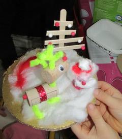 Le bricolage de Noël