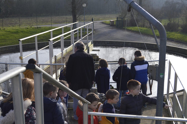Visites de station d'eau potable et de station d'épuration