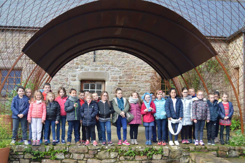 Visite du château de la Roche Jagu