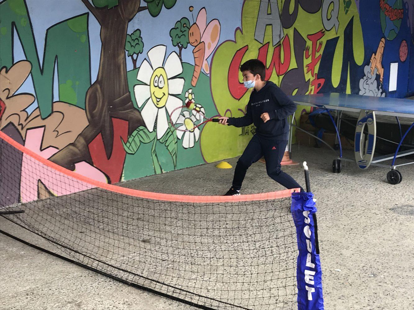 Un petit goût de  tennis!